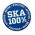Kvalitet och Miljö - SKA-logga, skydd, kvalitét och miljö
