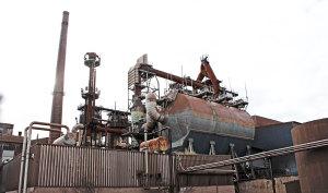 Hel fabrik återvinns