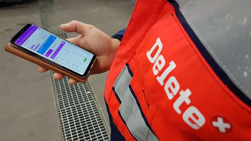 NB IoT Delete i pilotprojekt förebyggande underhåll