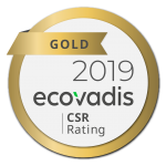 ECOVADIS CSR rating Gold - Delete