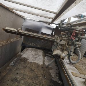 Vattenbilningsvagn Waterjet Delete